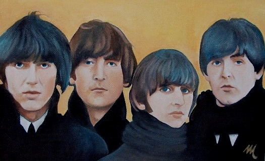 The Beatles by mario